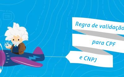 Regra de validação para CPF e CNPJ